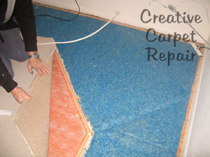 can you patch berber carpet