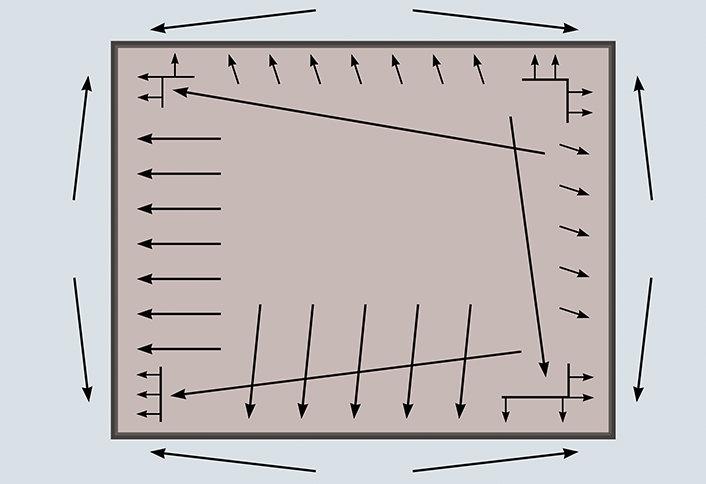 anatomy of power stretching carpeting