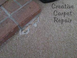 Creative Carpet Repair Repair It Don T Replace It