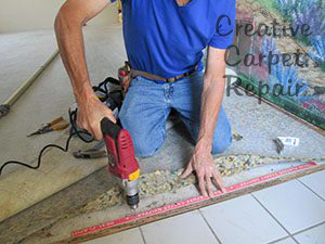 Creative Carpet Repair Repair It Don T Replace It
