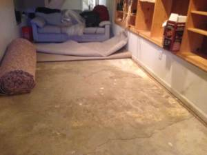 water damaged carpet repair